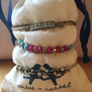 Chloe + Isabel ArmPary- Set of 4 bracelets